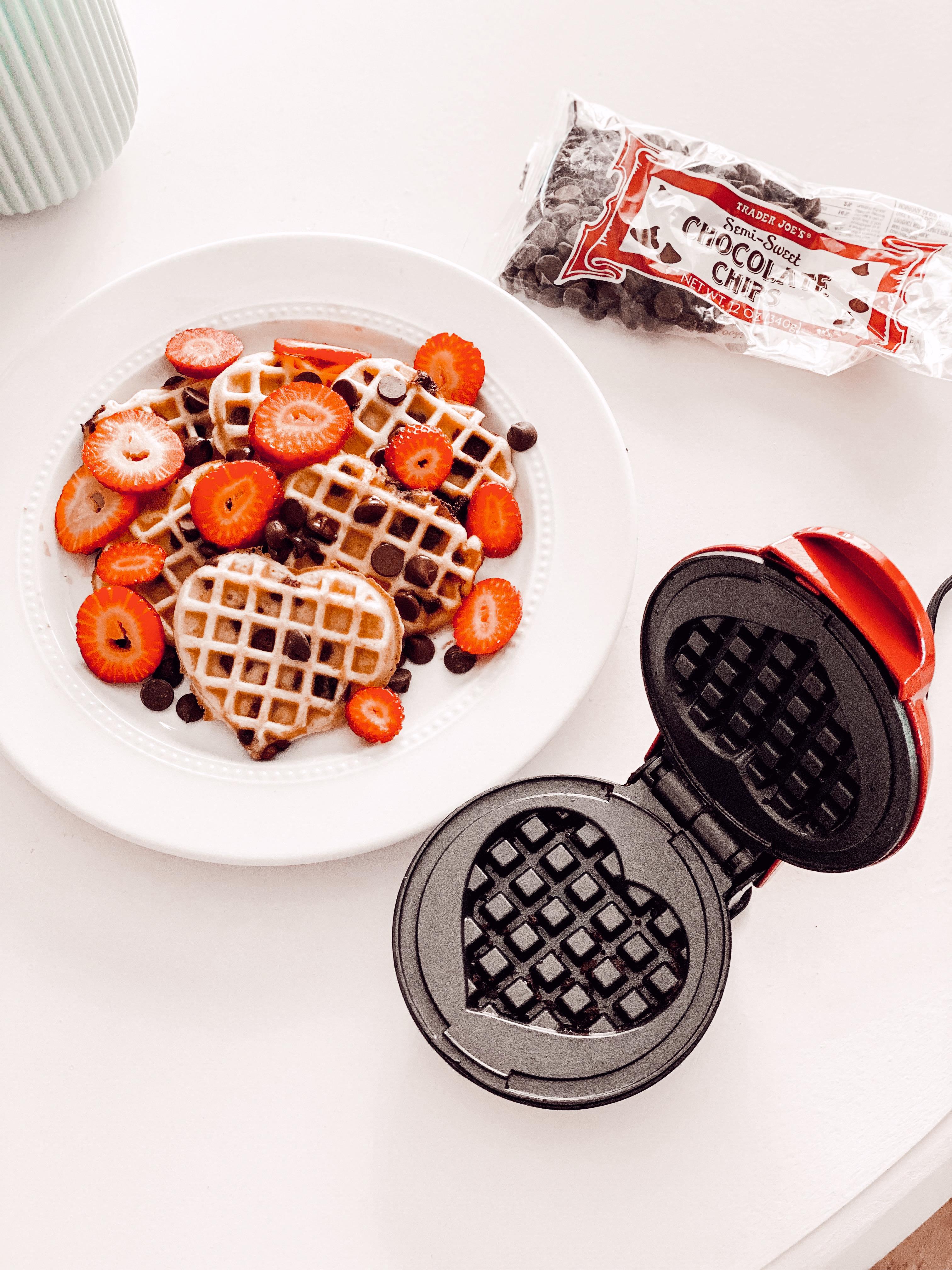 Heart Shaped Waffle Maker From Amazon